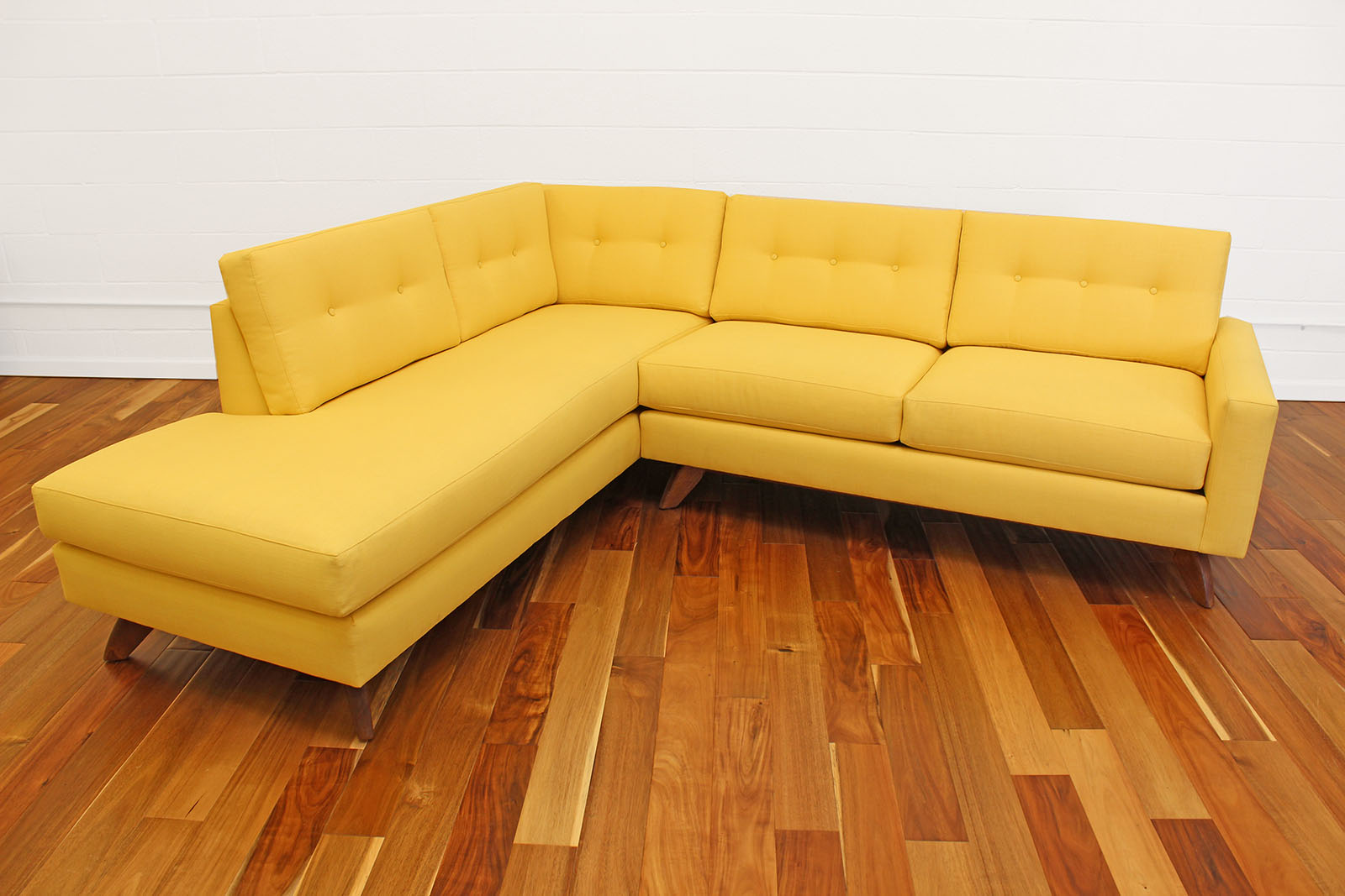 Muse Sofa With Bumper Chaise Cozy Couch Sf