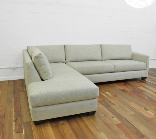 Damon Sofa With Bumper Chaise Sectional Cozy Couch Sf