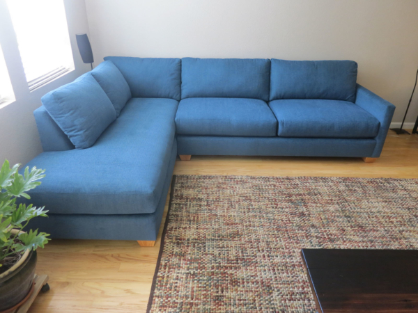 Leather Sectional Sleeper Couch