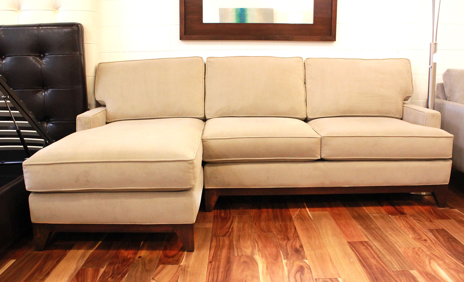Chelsea Sofa Chaise Cozy Couch Sf